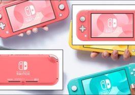 Nintendo Hadirkan Varian Warna Terbaru Untuk Nintendo Switch Lite