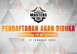 Pendaftaran Free Fire Indonesia Masters 2020