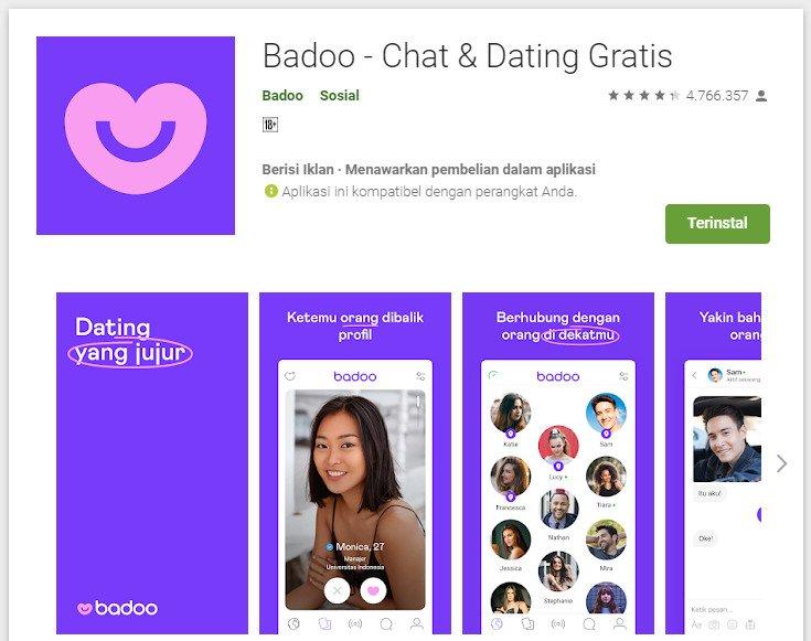 Cara keluar dari aplikasi badoo