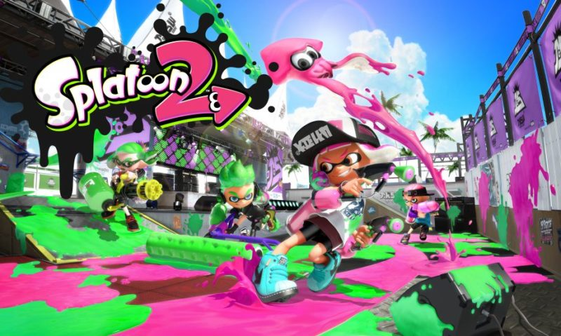 Rekomendasi Game Nintendo Switch Terbaik- Splatoon 2