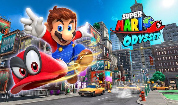 Rekomendasi Game Nintendo Switch Terbaik- Super Mario Odyssey