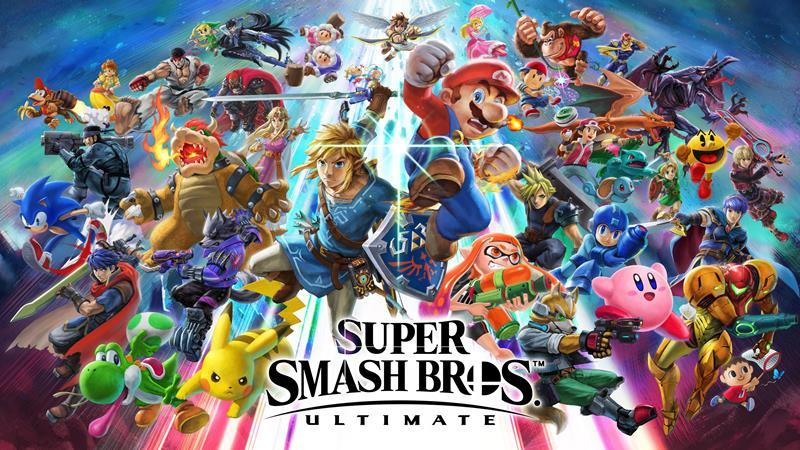 Rekomendasi Game Nintendo Switch Terbaik- Super Smash Bros Ultimate 1
