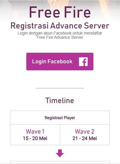 Advance Server Free Fire Mei 2020