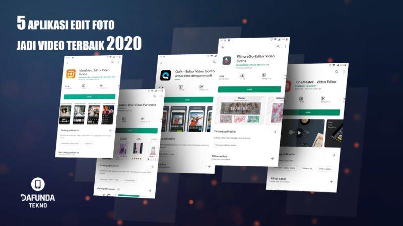 Aplikasi Edit Foto Jadi Video TERBAIK