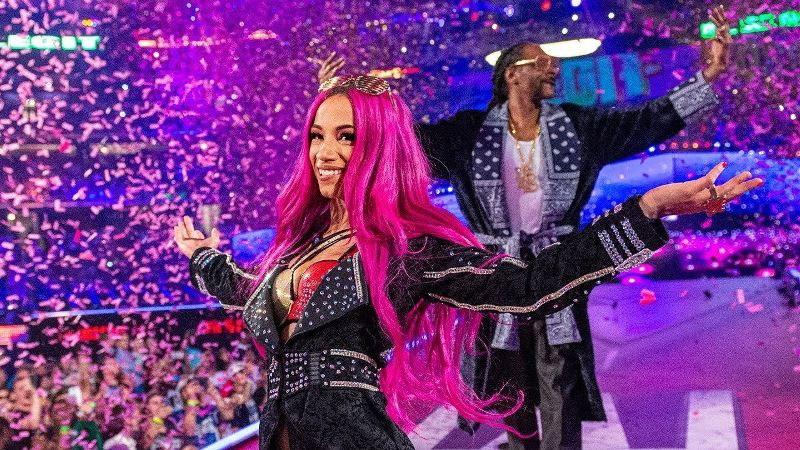 WWE Sasha Banks Star wars The Mandalorian Snoop Dogg