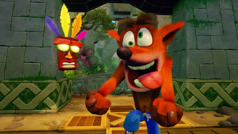 Cara Memainkan Crash Bandicoot Di Android
