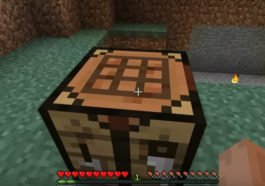 Cara Membuat Crafting Table Minecraft