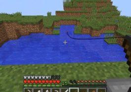 Cara Membuat Fishing Rod Minecraft