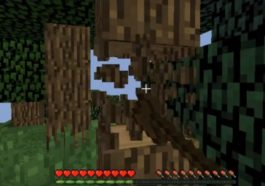 Cara Membuat Wooden Axe Minecraft