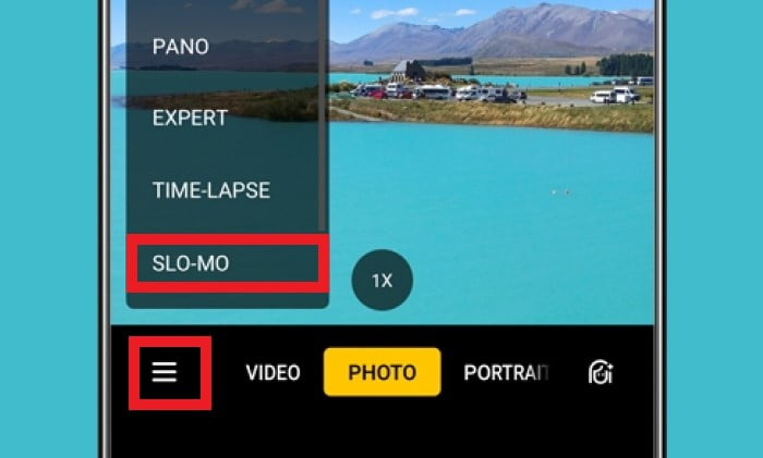Cara Mengambil Video Slow Mo