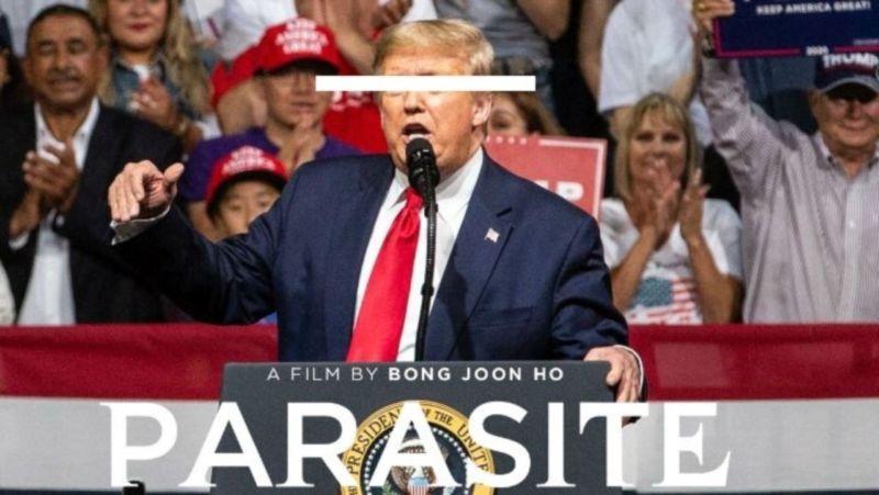 Donald Trump Kesal Dengan Parasite