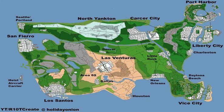 Peta Gta 6 Buatan Penggemar