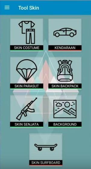 Pilih Skin