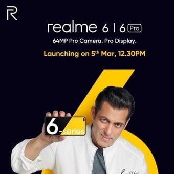 Poster Realme 6 Dan Realme 6 Pro