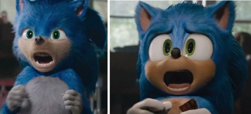 Sonic Desain Ulang