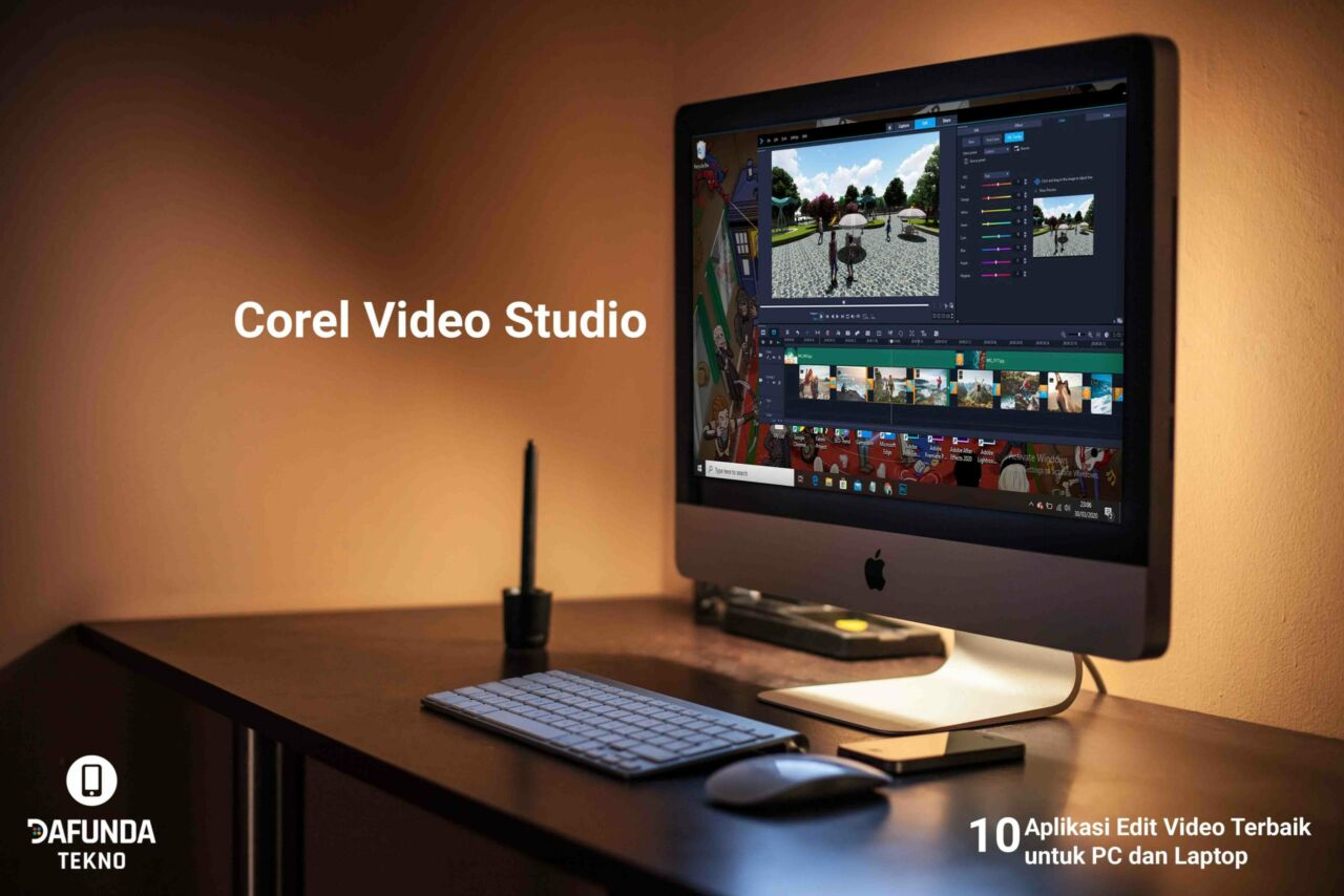 Aplikasi Edit Video Terbaik Untuk Pc Dan Laptop Corel Video Studio