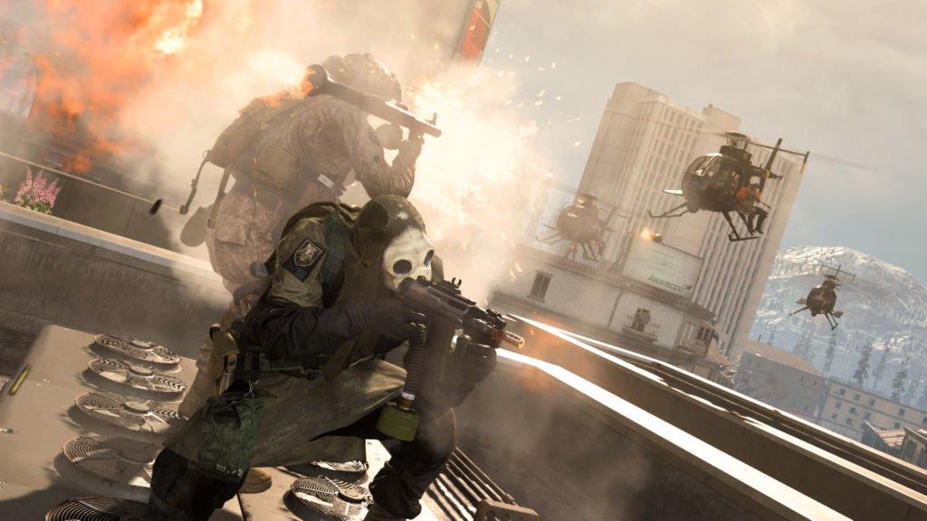 Call Of Duty Warzon Helikopter