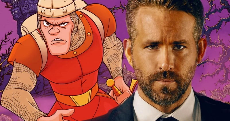Dragons Lair Movie Netflix Ryan Reynolds