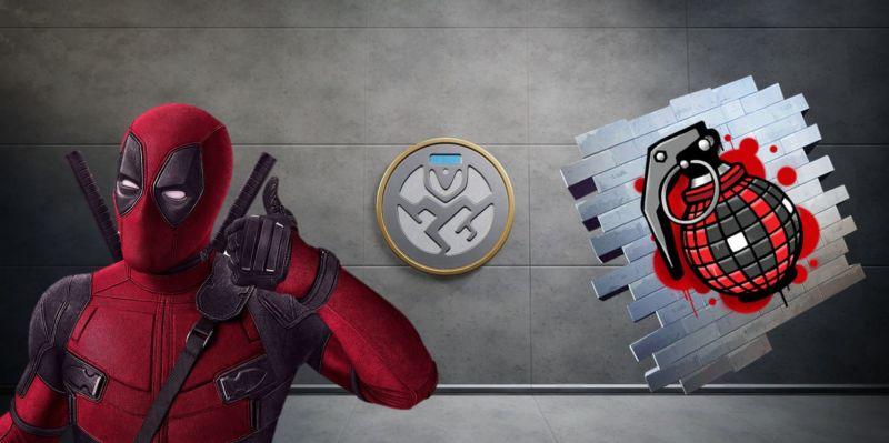 Fortnite Deadpool Tantangan Minggu Ketiga