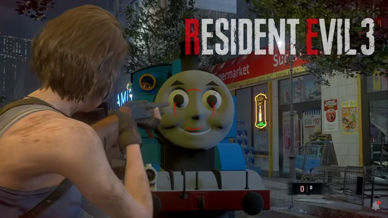 Mod Thomas Re3 Remake