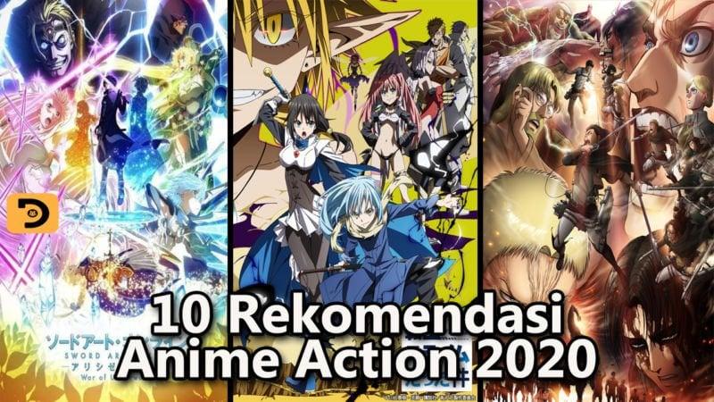 Rekomendasi Anime Action 2020 Terbaik