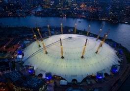 O2 Arena London COVID-19