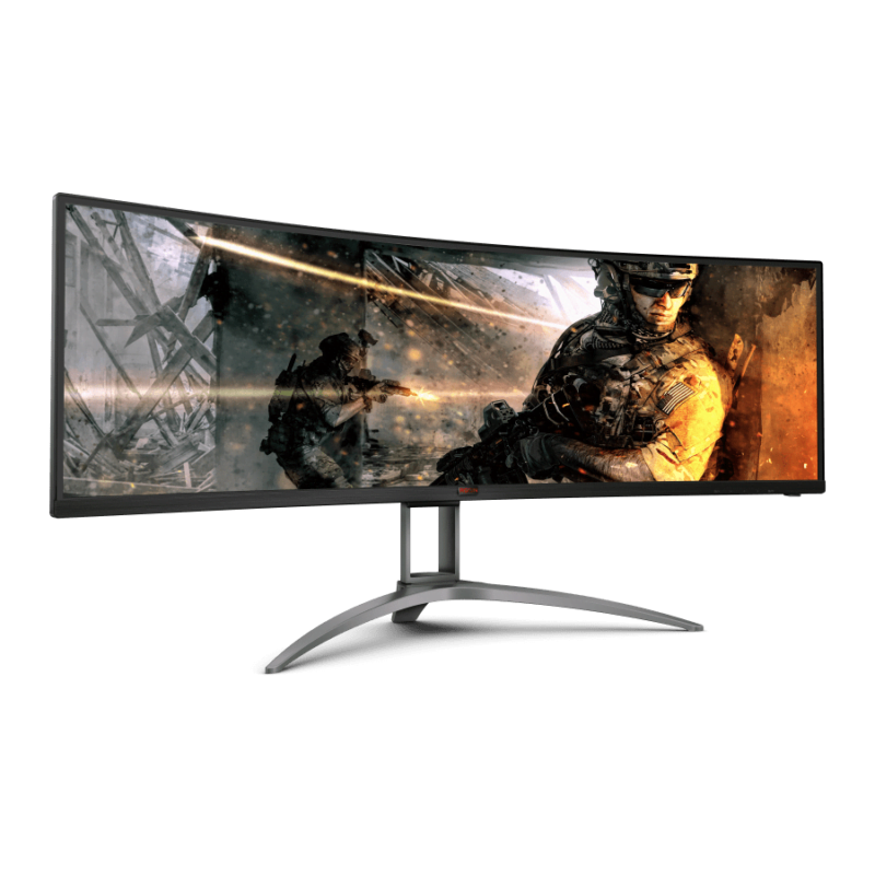 Monitor Curved gaming Ag493ucx