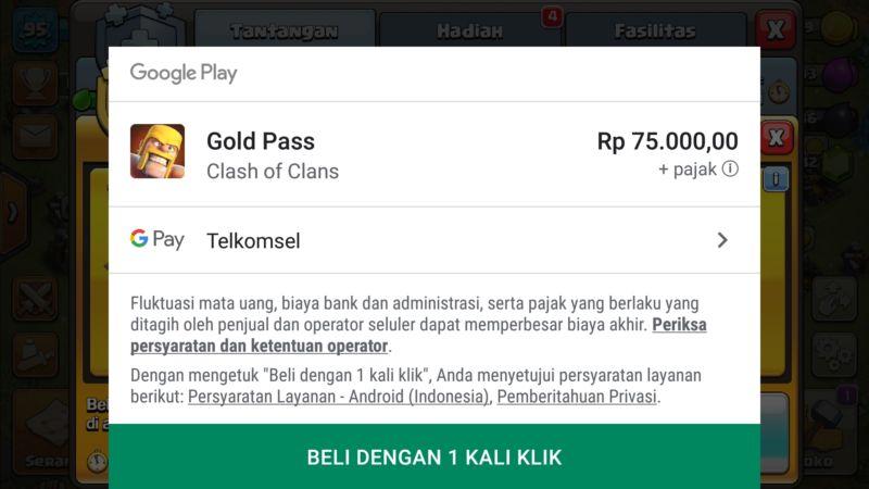 Cara Menambahkan Pembayaran Telkomsel Di Google Playstore