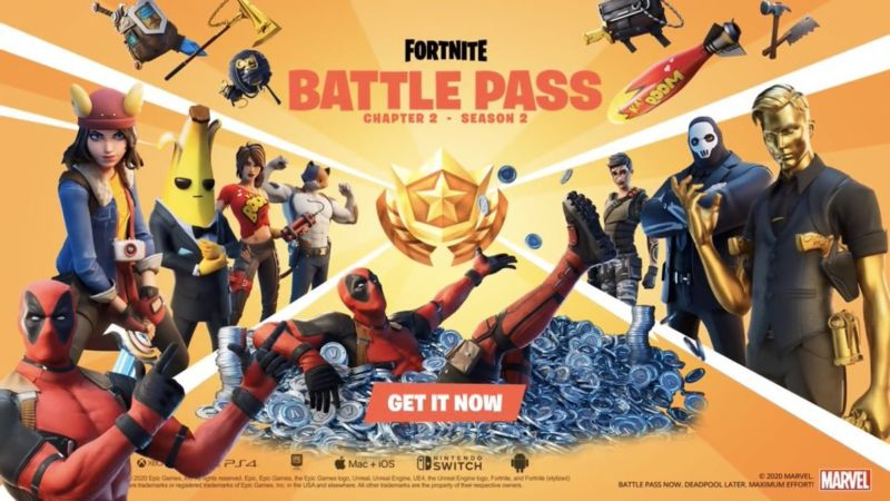 Fortnite Deadpool