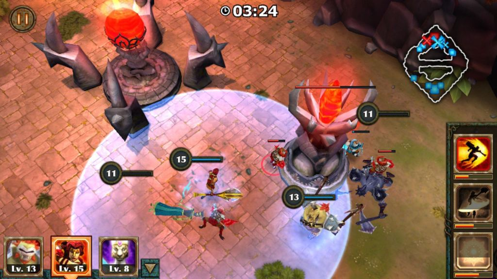 Game Offline Mirip Mobile Legends Hero Moba