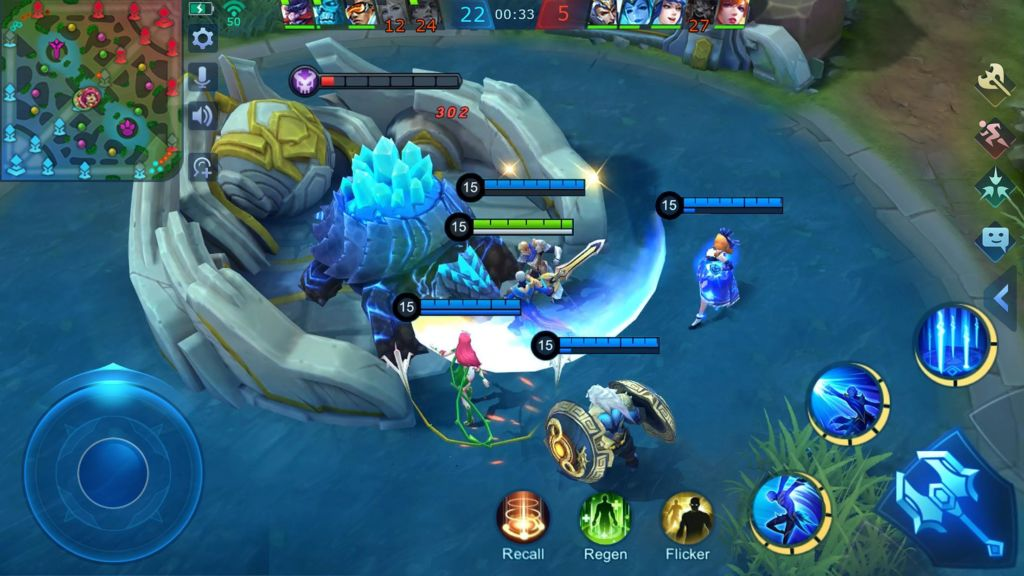 5 Game Offline Mirip Mobile Legends