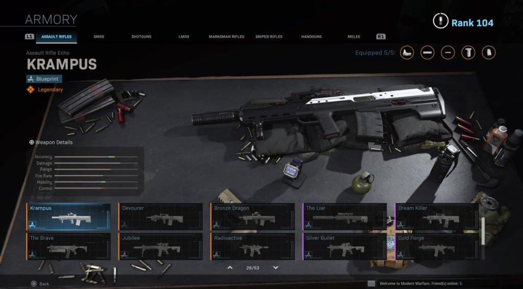 Loadout Terbaik Call Of Duty Warzone