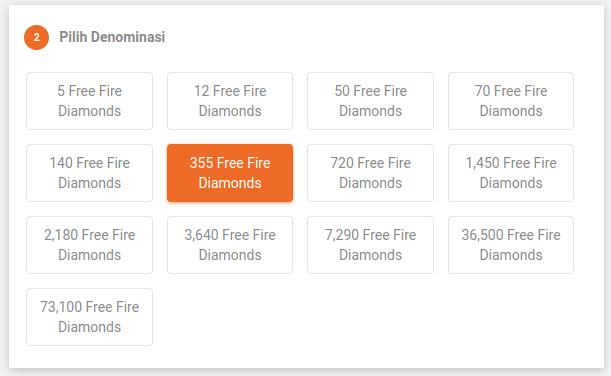 Pilih Diamond Ff