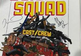 Poster Produksi Suicide Squad