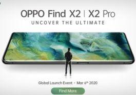 Spesifikasi Oppo Find X2