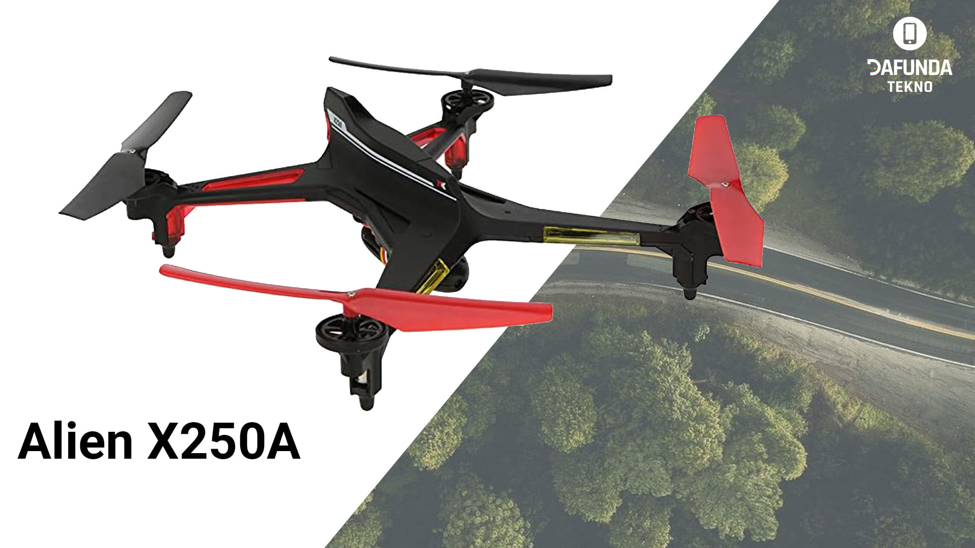 Drone Murah Terbaik Harga dibawah 2 Jutaan Alien X250a 1