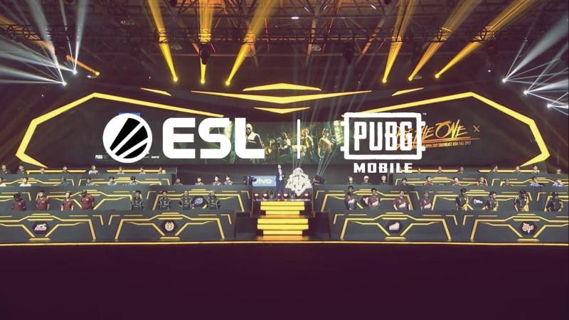 Esl X Pubg Mobile,