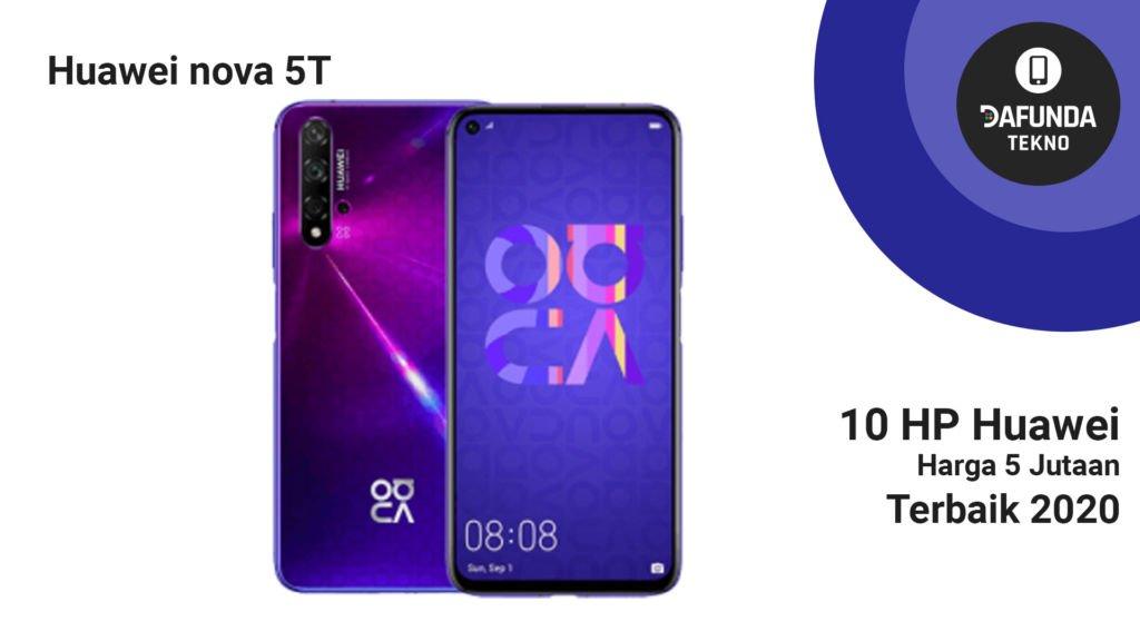 Huawei Nova 5t 5 Jutaan