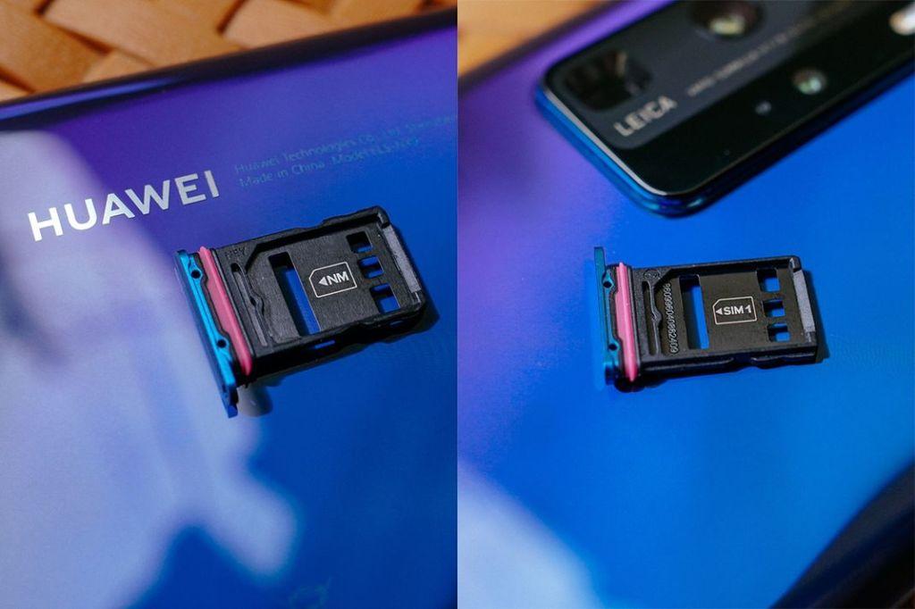 Model Slot Sim Card Dan Slot Memori Huawei P40 Pro