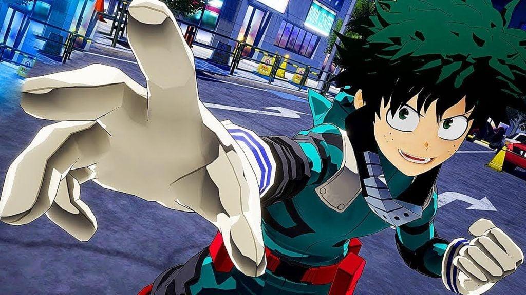 My Hero Academia One Justice