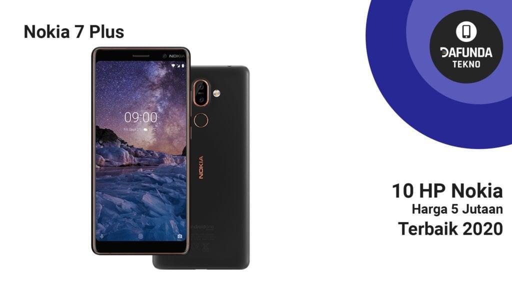Nokia 7 Plus 5 Jutaan