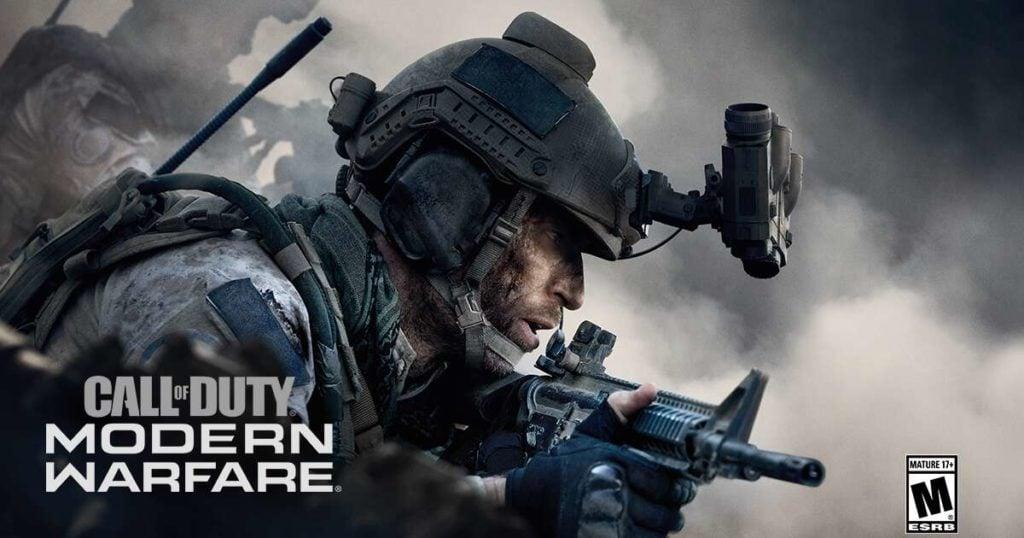 game ps4 Call Of Duty Modern Warfare