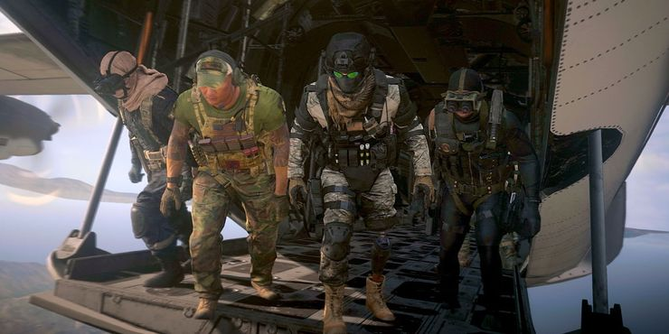 Call Of Duty Warzone Squad 4 Pemain