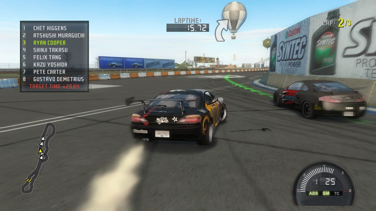 Cheat Need For Speed Prostreet Ps2