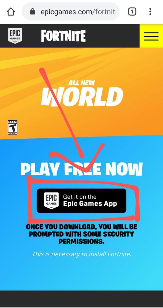 Download Epic Games App