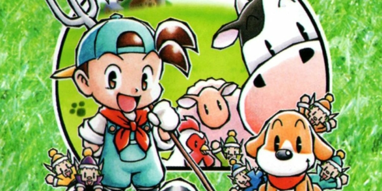 Harvest Moon Back To Nature game Ps1 mobile