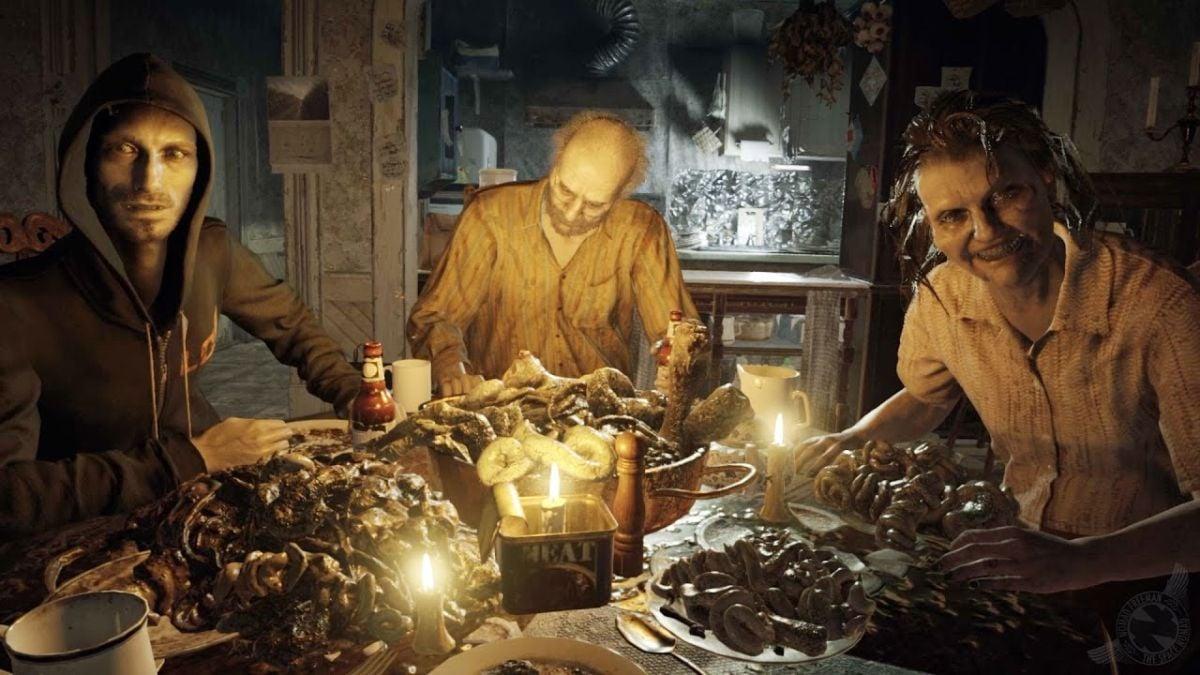 Resident Evil 7 Family Dinner