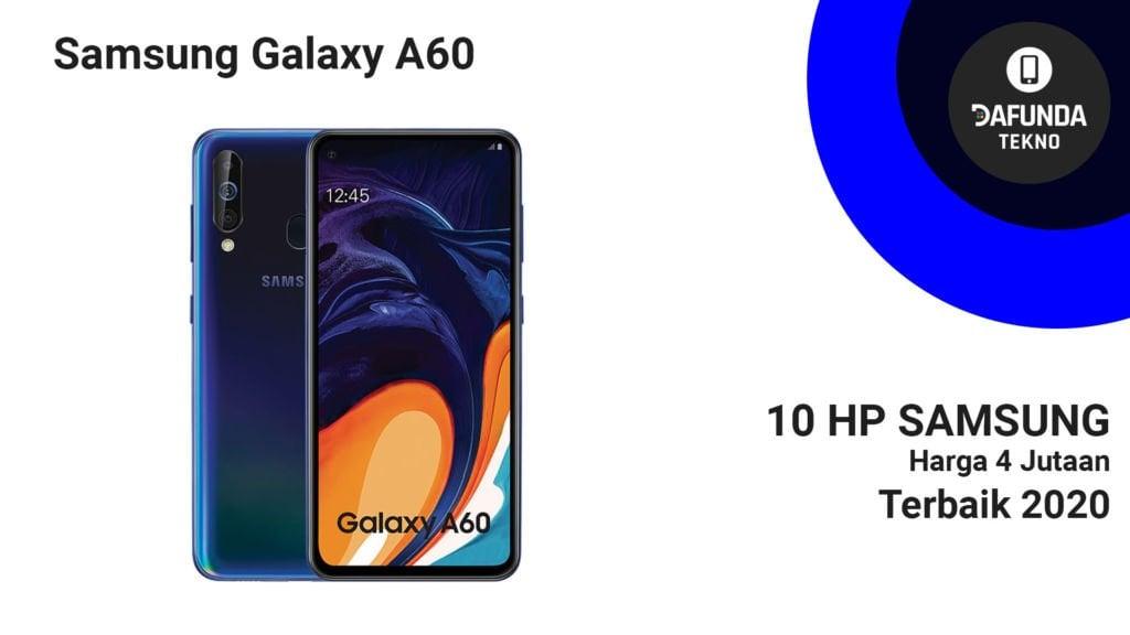 Samsung Galaxy A60 Terbaik