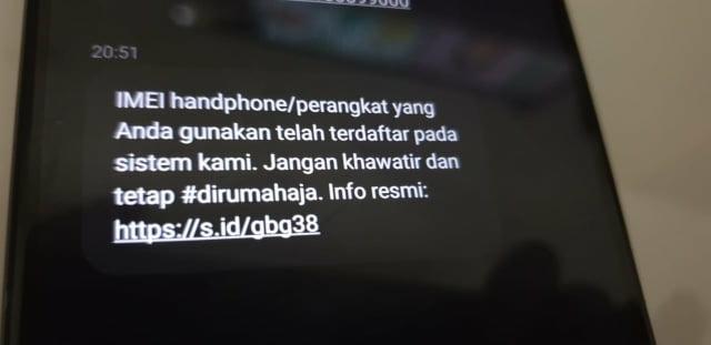 Sms Tentang Nomor Imei Dari Kominfo