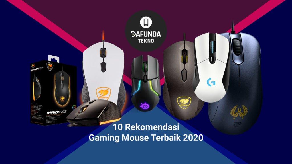 10 Rekomendasi Gaming Mouse Terbaik 2020